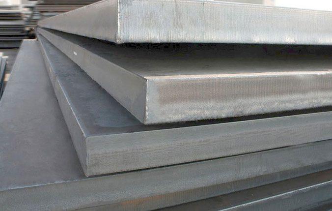 chapas de aço na construção civil